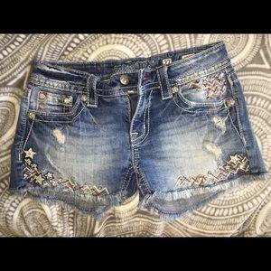 Miss me shorts sz 27
